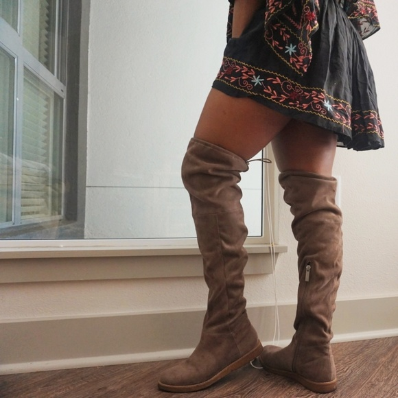 8bc08c82e5c BCBGeneration Shoes - BCBGeneration Brennan Slouch Thigh High Boot